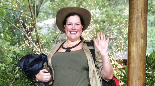 Tziporah Malkah, formerly known as Kate Fischer, on I'm a Celebrity ... Get Me Out Of Here!