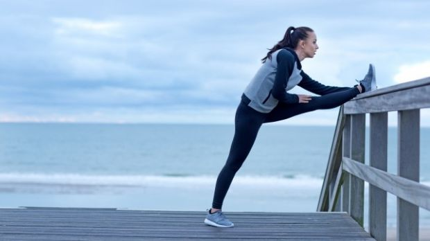 Mobilise but don't stress about stretching.