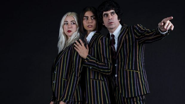 Chain & the Gang: Fiona Campbell, Anna Nasty and Ian Svenonius.
