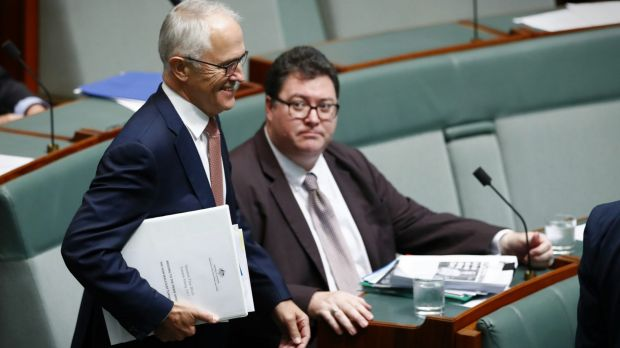 """Nationals MP George Christensen says Malcolm Turnbull was dragged """"kicking and screaming"""" into announcing a royal commission."""