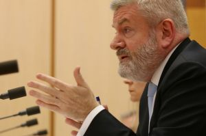 Communications Minister Senator Mitch Fifield said the move would help the broadcasters that are under competitive ...