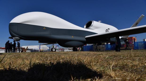 The MQ-9 Reaper drone, used by the United States.