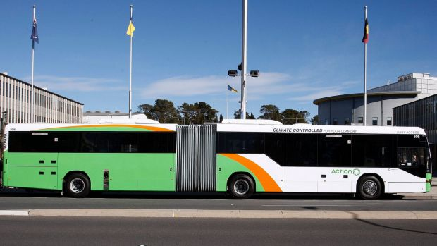 Even articulated buses aren't solving capacity issues on Belconnen's public transport network.