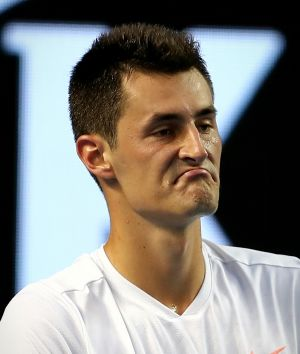 """Bernard Tomic was fined after saying he was """"bored"""" by the game."""