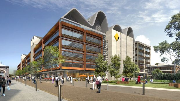 The Australian Technology Park offices for Commonwealth Bank are being developed by Mirvac.