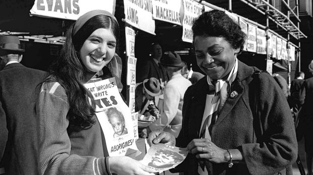 Indigenous activist Faith Bandler during the 1967 referendum.