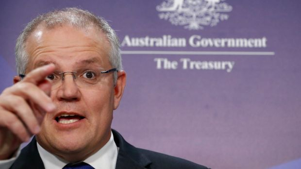 """In Australia our prices may be high, particularly in Sydney and Melbourne, but they're real,"" says Scott Morrison."