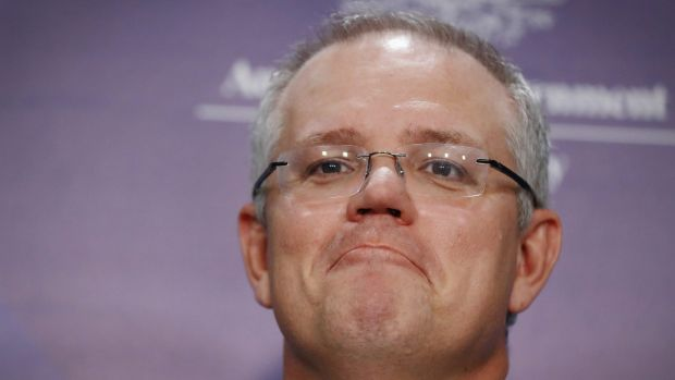 No room: Treasurer Scott Morrison says entry to the budget lock-up will be restricted to professional news organisations ...