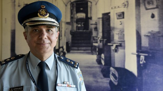 """""""I'm doing what I'm paid to do,"""" says Pat Aboud, pictured at Long Bay Correctional Complex, """"which is to reduce ..."""