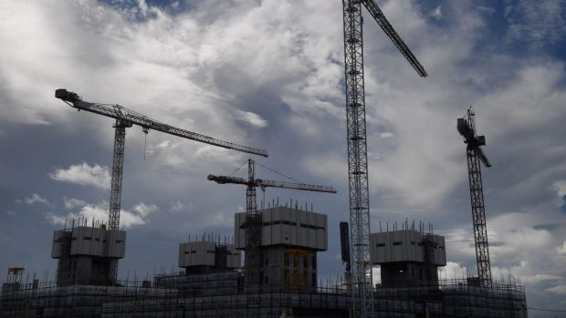 Residential construction fell in the latest quarter and economists at UBS expect the trend to continue.