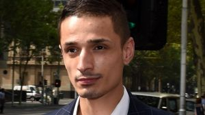 Angelo Gargasoulas at the Melbourne Magistrates Court for a hearing in March.