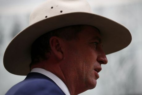 Obstinate: NSW Transport Minister Andrew Constance says Deputy Prime Minister Barnaby Joyce (pictured) is out of touch ...