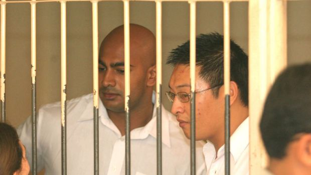 Executed Bali nine members Myuran Sukumaran and Andrew Chan in 2015.