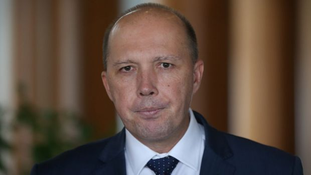In Canberra, Mr Dutton might be the poster boy for the party's right wing.