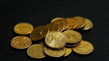 The Australian dollar hit a two-month high on Thursday morning.