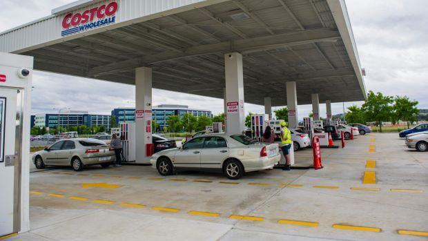 After filling up at the Costco service station in Majura Park, Tina Tian was charged more than $200,000.