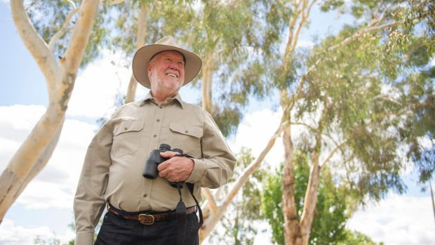 Canberra Ornithologists Group president Neil Hermes was on the island when the rehabilitation work started and the group ...