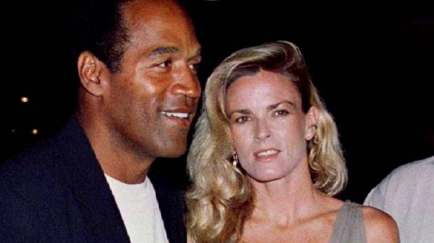 OJ Simpson with Nicole Brown in March 1994, just months before her murder.