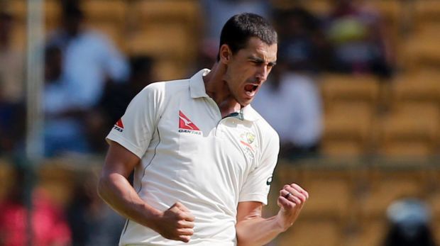Hard to replace: Paceman Mitchell Starc is recovering from a foot injury.