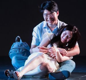 The play hinges around a whodunit plot: cast members Charles Wu and Jenny Wu.