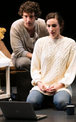 Geraldine Hakewill is a pitch-perfect Tessa, the chorus-like English woman who falls for Joe (Mark Leonard Winter).