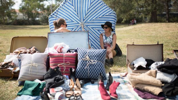 The suitcase rummage is back as part of the 2017 Art, Not Apart festival.
