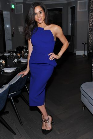 Actress Meghan Markle attends the Equinox Yorkville Dinner held at Kasa Moto in Toronto, Canada.