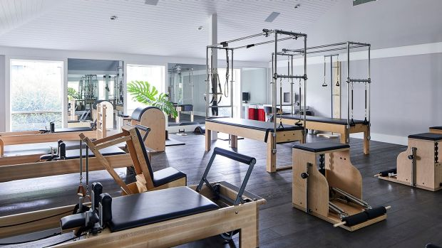A look inside the new hale gym and spa at brassey hotel for Act 2 salon fairfax
