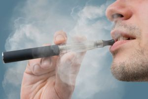 The UK Royal College of Physicians says available data suggests the long-term health effects of vaping are considerably ...