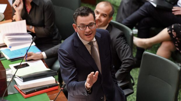 Premier Daniel Andrews stayed firm.