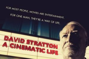 Poster for the film David Stratton: A Cinematic Life. Image sourced from web.?