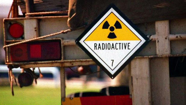Much of the radioactive waste was trucked to Woomera from Sydney in the mid 1990s.