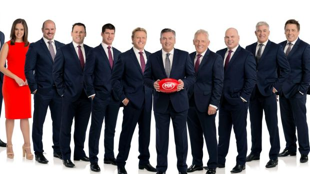 One out: With Sarah Jones on maternity leave, Neroli Meadows (pictured) is now the only woman on Fox Footy.