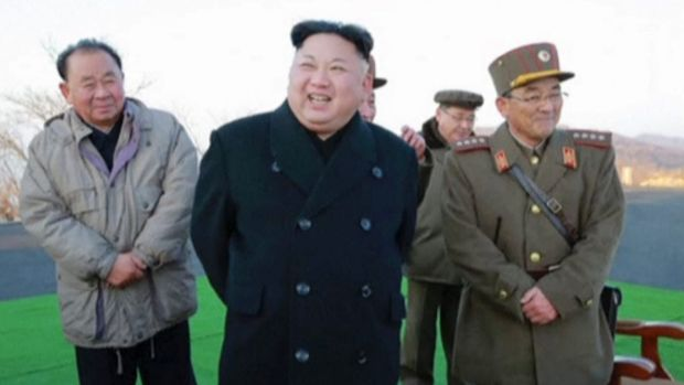 Kim Jong Un during one of his most recent missile launches into the Sea of Japan. There are now fears of an imminent ...