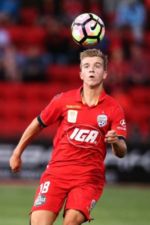 Bolter: Riley McGree was the shock selection for the Socceroos.