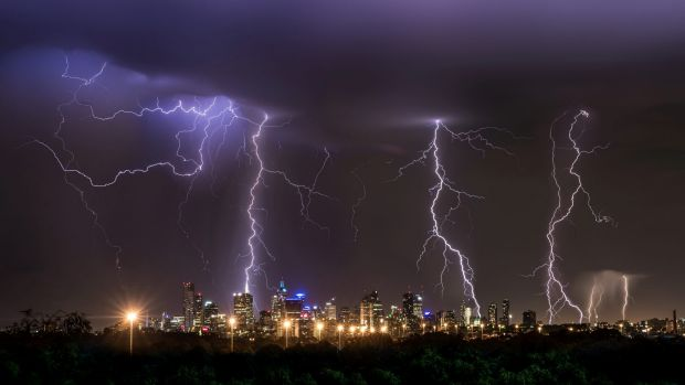 Heavy rain and thunderstorms are expected for parts of Victoria.