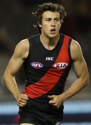No.1 draft pick Andrew McGrath has been named by the Bombers.