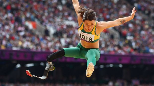 Kelly Cartwright competed at the London 2012 Paralympic Games, winning gold in the long jump.