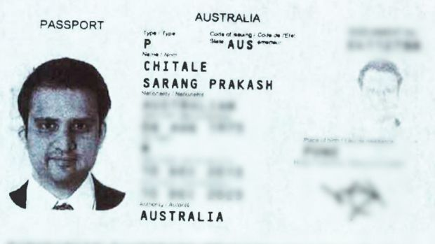 Shyam Acharya allegedly used the name Sarang Chitale to work for NSW Health and apply for a passport.