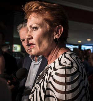One Nation leader Pauline Hanson is from Queensland.
