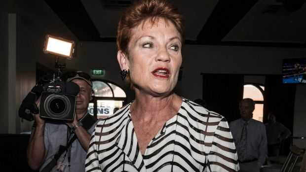 Pauline Hanson's One Nation blocked the ABC from attending its election night party.