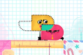 <i>Snipperclips</i> is an unconventional but engrossing puzzle game that embodies the Switch motto of playing anywhere ...