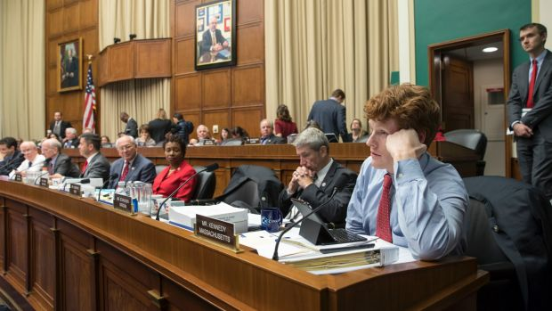 House energy and commerce Committee members argue the details of the Obamacare replacement bill after working through ...