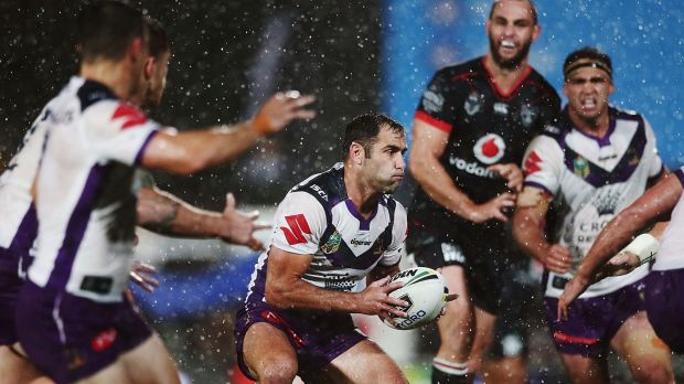 No change in approach: Cameron Smith is undeterred by conditions in Auckland.