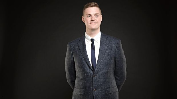 "Comedian Tom Ballard says comedy can ""yell the truth in your face""."