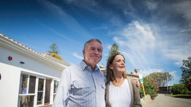Colin Barnett is looking forward to spend more time with his wife Lyn.