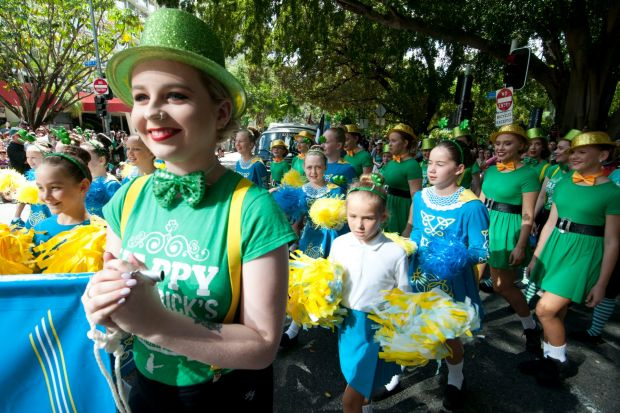 The annual parade is one of the biggest celebrations on the Brisbane calendar.