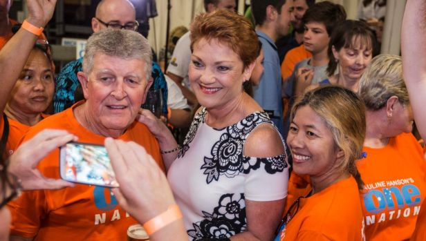 Pauline Hanson should have ridden the populist tsunami that gave Donald Trump the US presidency. Instead she was blaming ...