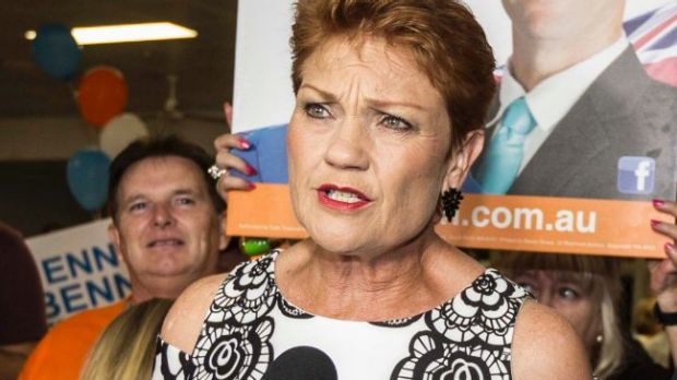 "One Nation leader Pauline Hanson declared the party's election result was ""fantastic"", despite falling well short of ..."