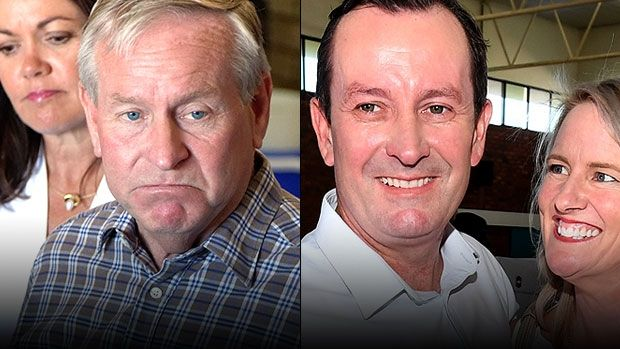 Colin Barnett's Liberal Party was smashed by voters on election day.